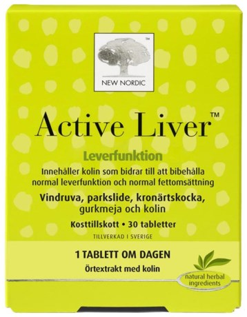New Nordic Active Liver, Helse - New Nordic