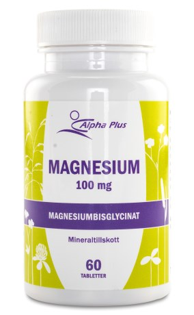 Alpha Plus Magnesium, Kosttilskud - Alpha Plus