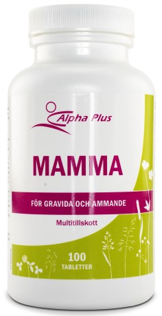 Alpha Plus MammaVital, Kosttilskud - Alpha Plus