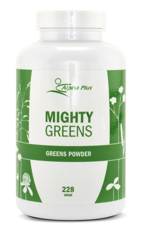 Mighty Greens, Helse - Alpha Plus