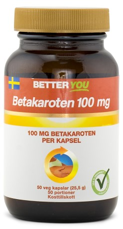 Better You Betakaroten 100 mg, Helse - Better You