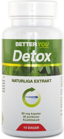 Better You Detox, Helse - Better You