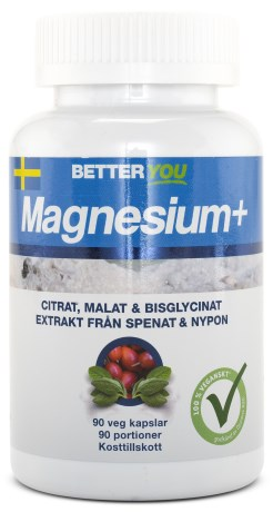 Better You Magnesium Plus, Kosttilskud - Better You