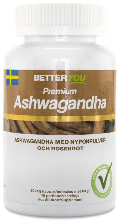 Better You Premium Ashwagandha, Helse - Better You
