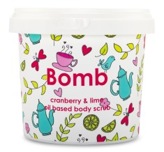 Bomb Cosmetics Body Scrub Cranberry & Lime
