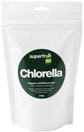 Chlorella pulver, Helse - Superfruit