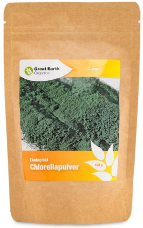 Great Earth Chlorellapulver, Helse - Great Earth