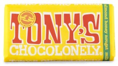 Tonys Chocolonely Milk Chocolate Almond Honey Nougat