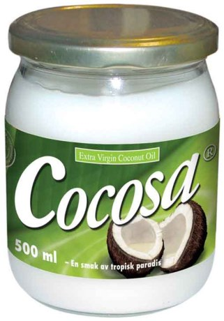 Cocosa Extra Virgin Coconut Oil, Helse - Soma Nordic
