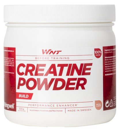 WNT Creatine Powder, Kosttilskud - WNT