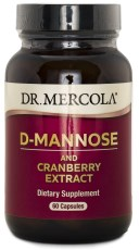Dr Mercola D-Mannose and Cranberry