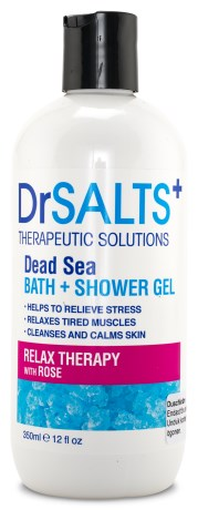 Dr SALTS Bath & Shower Gel Relax Therapy - Dr SALTS