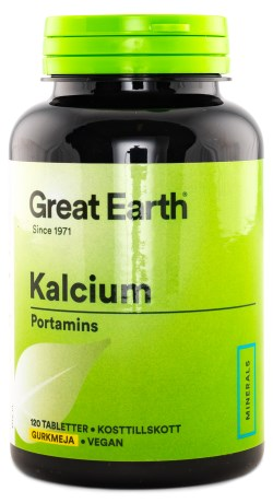 Great Earth Super Calcium, Kosttilskud - Great Earth