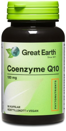 Great Earth Coenzyme Q10, Helse - Great Earth