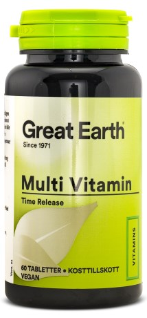 Great Earth Multi Vitamins, Kosttilskud - Great Earth