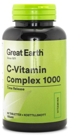 Great Earth C-vitamin Complex 1000, Kosttilskud - Great Earth