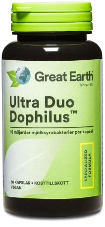 Great Earth Ultra Duo Dophilus, Helse - Great Earth