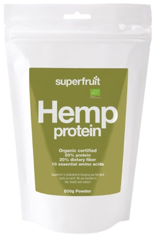 Hemp Protein, Helse - Superfruit