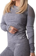 ICIW Queen Mesh Seamless Long Sleeve
