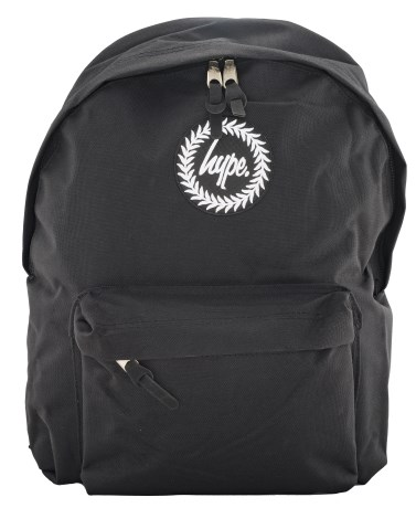 Just Hype Backpack Black - Just Hype