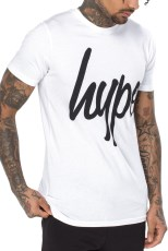 Just Hype Mens Script T-Shirt