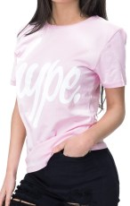 Just Hype Script Womens T-Shirt