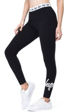 Just Hype Womens Leggings Taped