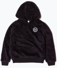 Just Hype Womens Pullover Sherpa Hoodie