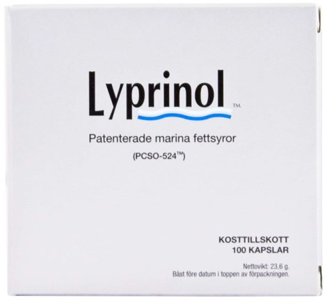 Lyprinol, Helse - IQ Medical