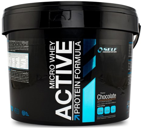 Micro Whey Active, Kosttilskud - Self Omninutrition