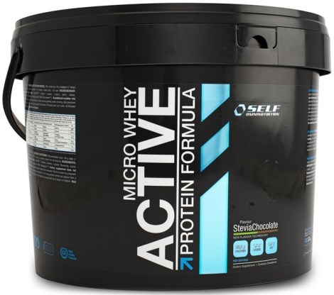 Micro Whey Active Stevia, Kosttilskud - Self Omninutrition