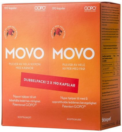 Movo Dubbelpack, Helse - Bringwell