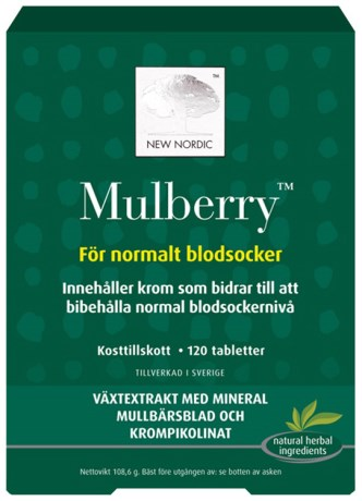 Mulberry , Kosttilskud - New Nordic