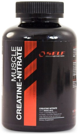 Muscle Creatine Nitrate, Kosttilskud - Self Omninutrition