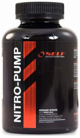 Muscle Nitro-Pump, Kosttilskud - Self Omninutrition