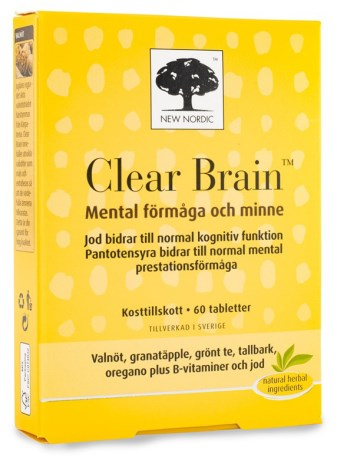 New Nordic Clear Brain, Helse - New Nordic
