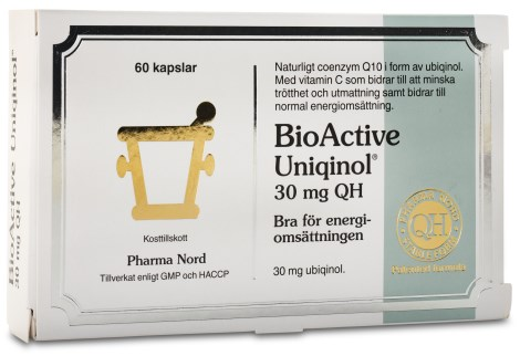 Bio-Active Uniqinol Q10, Helse - Pharma Nord