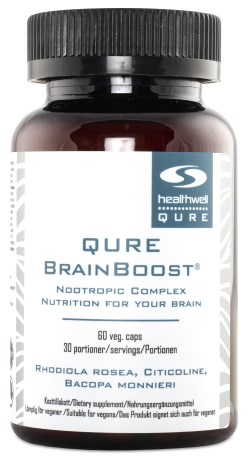 QURE BrainBoost, Helse - Healthwell QURE