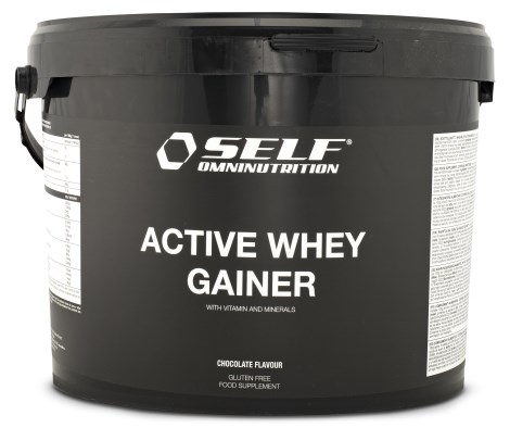 New Active Whey Gainer, Kosttilskud - Self Omninutrition