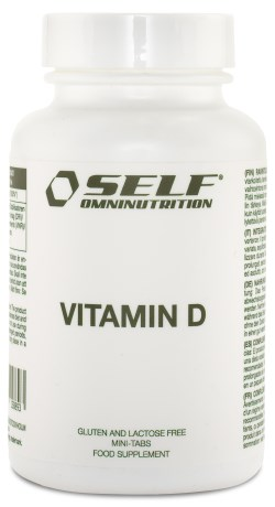 Self Omninutrition Vitamin D, Kosttilskud - Self Omninutrition