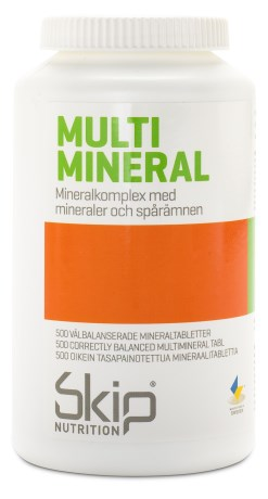 Skip Multimineral, Kosttilskud - Skip Nutrition