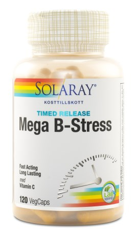 Solaray Mega B-Stress, Helse - Solaray