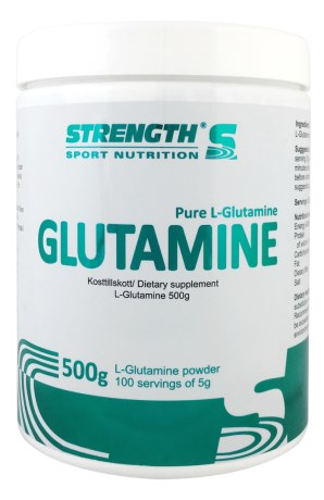 Strength L-Glutamine, Kosttilskud - Strength
