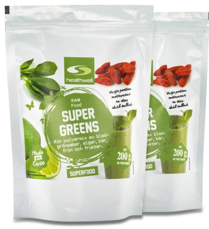 Super Greens, Helse - Healthwell