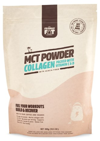 The Friendly Fat Company MCT Collagen, Kosttilskud - The Friendly Fat Company