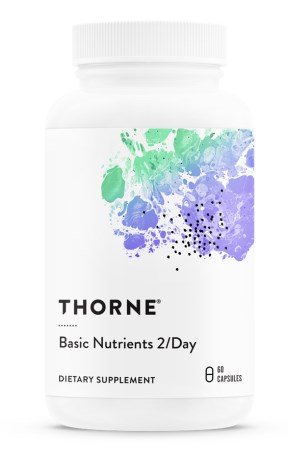 Thorne Basic Nutrients 2/day, Kosttilskud - Thorne Research