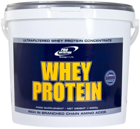 Whey Protein Pro Nutrition, Kosttilskud - Pro Nutrition