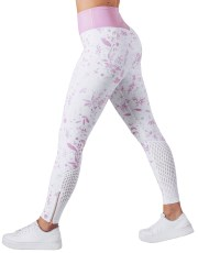Workout Empire Strong is Female Floral Leggings