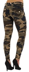 WR.UP Low Waist Skinny Camo