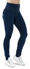 WR.UP Skinny Denim Effect High Waist